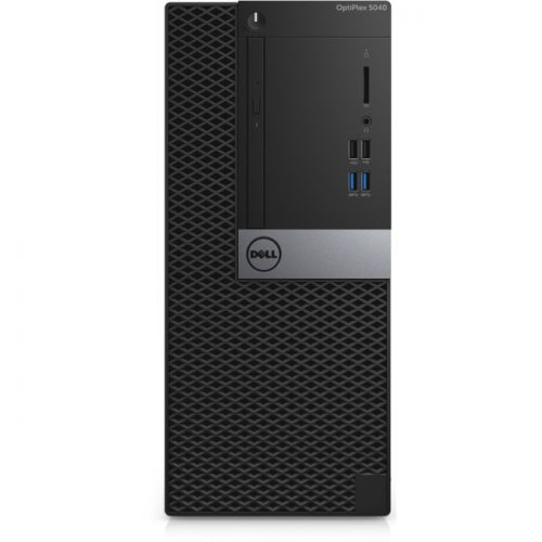 Dell OptiPlex 5040 Desktop Computer - Intel Core i5 (6th Gen) i5-6500 3.20 GHz - 8 GB DDR3L SDRAM - 500 GB HDD - Windows 10 Pro 64-bit (English/French/Spanish) - Mini-tower