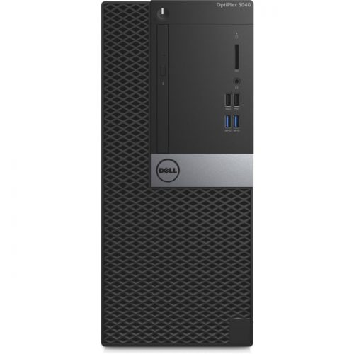 Dell OptiPlex 5040 Desktop Computer - Intel Core i7 (6th Gen) i7-6700 3.40 GHz - 8 GB DDR3L SDRAM - 500 GB HDD - Windows 10 Pro 64-bit (English/French/Spanish) - Mini-tower