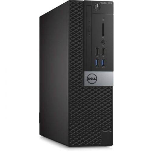 Dell OptiPlex 7040 Desktop Computer - Intel Core i5 (6th Gen) i5-6500 3.20 GHz - 4 GB DDR4 SDRAM - 500 GB HDD - Windows 10 Pro 64-bit (English/French/Spanish) - Small Form Factor