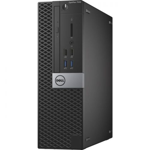 Dell OptiPlex 7040 Desktop Computer - Intel Core i5 (6th Gen) i5-6500 3.20 GHz - 8 GB DDR4 SDRAM - 500 GB HDD - Windows 10 Pro 64-bit (English/French/Spanish) - Small Form Factor