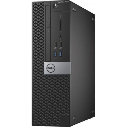 Dell OptiPlex 7040 Desktop Computer - Intel Core i5 (6th Gen) i5-6500 3.20 GHz - 8 GB DDR4 SDRAM - 256 GB SSD - Windows 10 Pro 64-bit (English/French/Spanish) - Small Form Factor