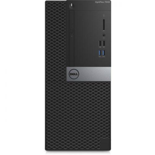 Dell OptiPlex 7040 Desktop Computer - Intel Core i5 (6th Gen) i5-6500 3.20 GHz - 8 GB DDR4 SDRAM - 500 GB HDD - Windows 10 Pro 64-bit (English/French/Spanish) - Mini-tower