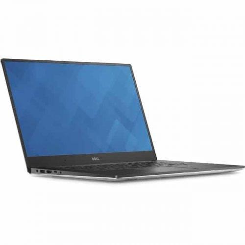"Dell XPS 15 15.6"" Notebook - Intel Core i7 (6th Gen) i7-6700HQ Quad-core (4 Core) 2.60 GHz - 8 GB DDR4 SDRAM - 256 GB SSD - Windows 10 Pro 64-bit (English) - 1920 x 1080 - Silver Aluminum"