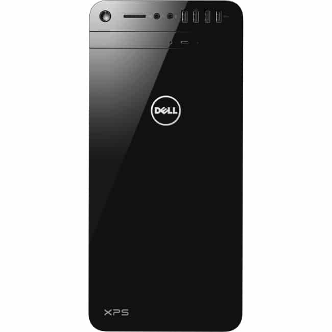 Dell XPS 8910 Desktop Computer - Intel Core i5 (6th Gen) i5-6400 2.70 GHz - 8 GB DDR4 SDRAM - 1 TB HDD - Windows 10 Home 64-bit (English) - Tower - Black