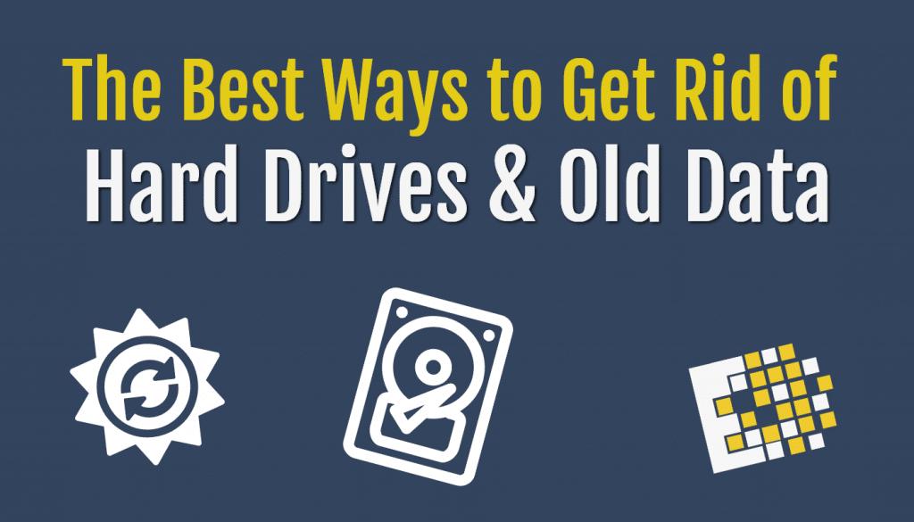Blog Old Data and Hard Drive