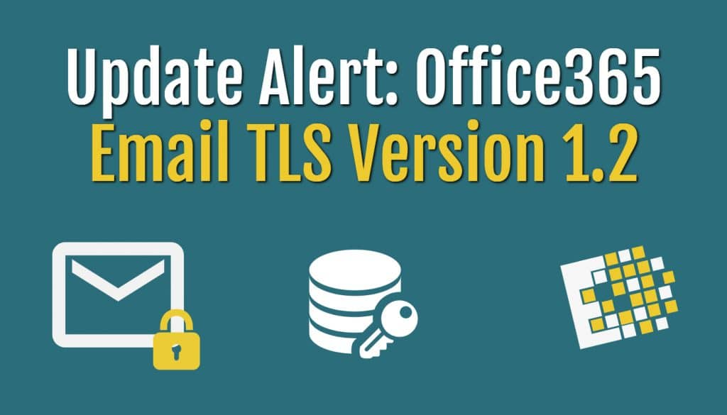 Email TLS version 1.2
