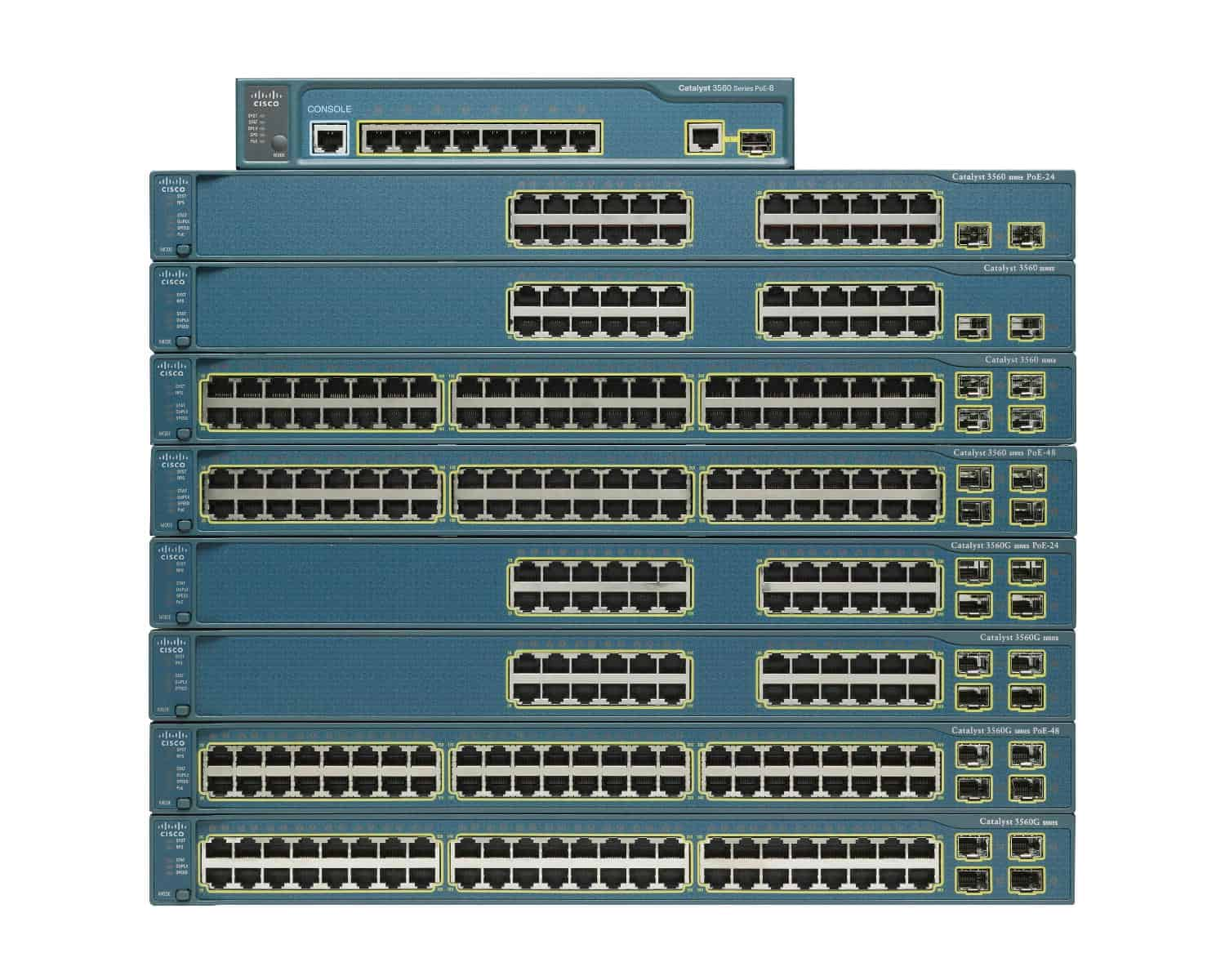 Cisco-Catalyst-3560-Series