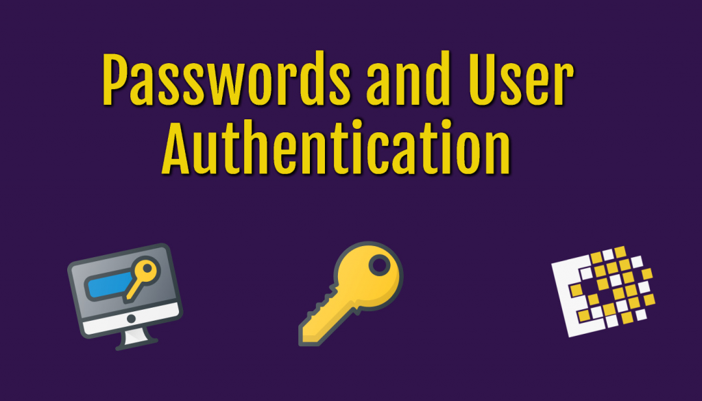 passwords and user authentication