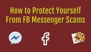 Avoid Facebook messenger scams